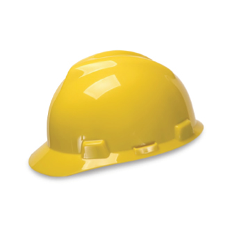 <p> MSA V-Gard® Protective Caps - Yellow</p>